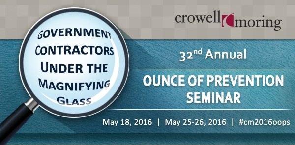 Ounce of Prevention Seminar 2016